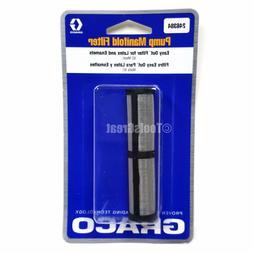 Graco Manifold Short Filter, 60 Mesh, Black - 246384