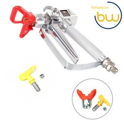 NEW 3600 PSI Spray Gun with 517 Tip & Guard Airless Paint  F