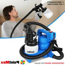 New Electric HVLP Paint Sprayer Gun Spray Pattern 800mL 3-wa