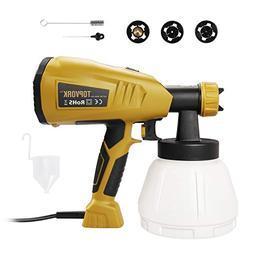 Paint Sprayer, TOPVORK 800ml/min HVLP Electric Paint Sprayer