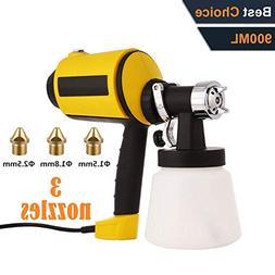Paint Sprayer,  Electric Spray Gun High Power HVLP Home Elec