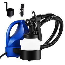 Goplus Paint Sprayer, 600W High Power Electric Spray Gun wit