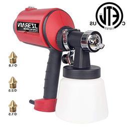 JZBRAIN Paint Sprayer, HVLP Electric Paint Spray Gun with Th