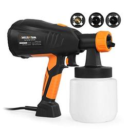 Paint Sprayer, Meterk 800ml/min HVLP Electric Paint Gun with