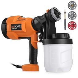 Paint Sprayer 800ml/min, Electric Spray Gun with Three Spray
