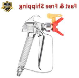 Paint Sprayer Gun 517 Super Zip Tip 4 Finger Trigger Wall Tr