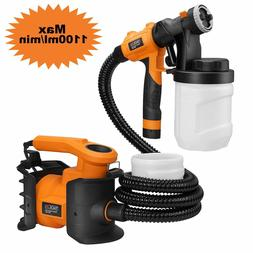 Paint Sprayer, Tacklife HVLP 1100ml/min,800W Paint Gun, with