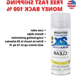 Painter Touch Multi Purpose Spray Paint12oz CLEAR COAT Semi