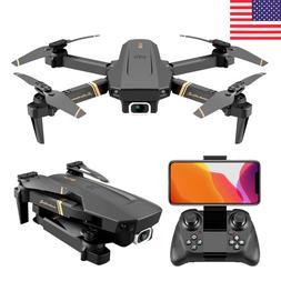 RC Drone With Camera HD 1080P Mini Foldable Dron FPV Wifi Dr