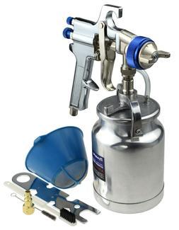 33 oz Siphon Feed Spray Gun - 2.5mm Nozzle for Spraying Oil-