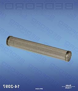 TITAN 730-067 Bedford 14-2097 Outlet Filter, 60M - 660ex, 69