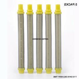Wagner Spraytech Airless Paint Sprayer Gun Filters Yellow 10